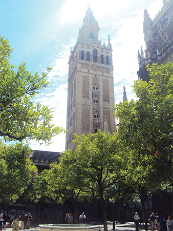 Giralda visiter Seville Andalousie blog voyage