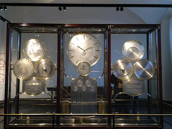 Horloge dans hotel de ville Copenhague