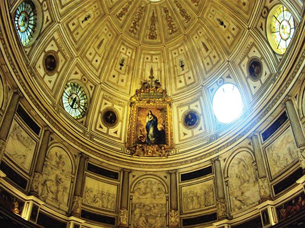 Intérieur cathedrale Visiter Seville Andalousie blog voyage