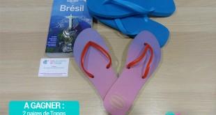 Jeu Concours Mes Souvenirs de voyage Brésil