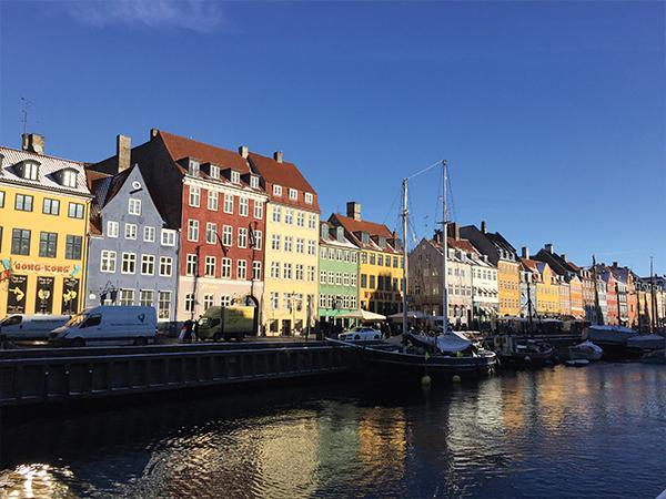 Maisons Colorées de Nyhavn Copenhague MSDV