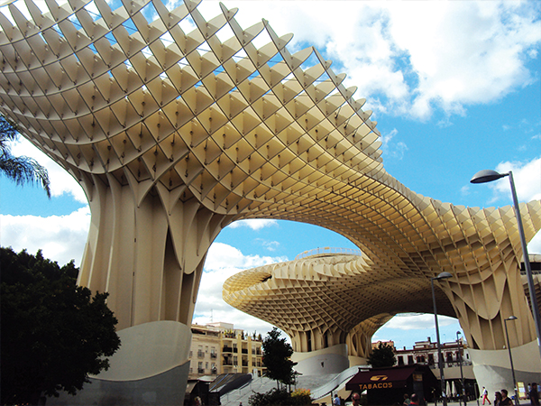 Parasol visiter seville en jours moderne blog voyage msdv for Moderne holzbetten