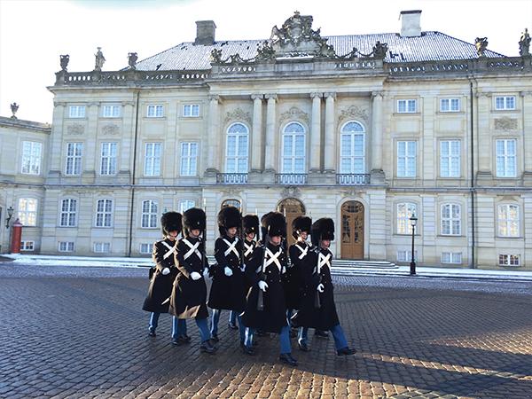 Releve de la garde Copenhague MSDV