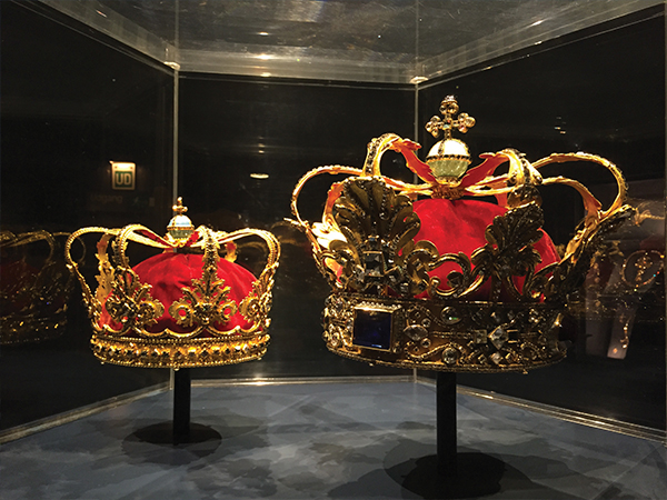 Visiter Copenhague Joyaux de la couronne MSDV