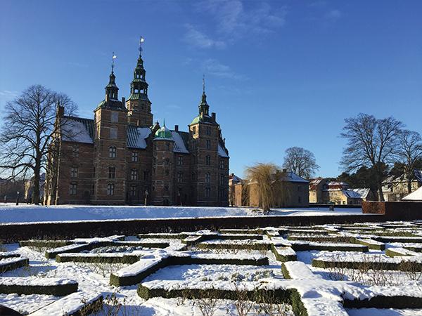 Vister Copenhague Chateau Rosenborg