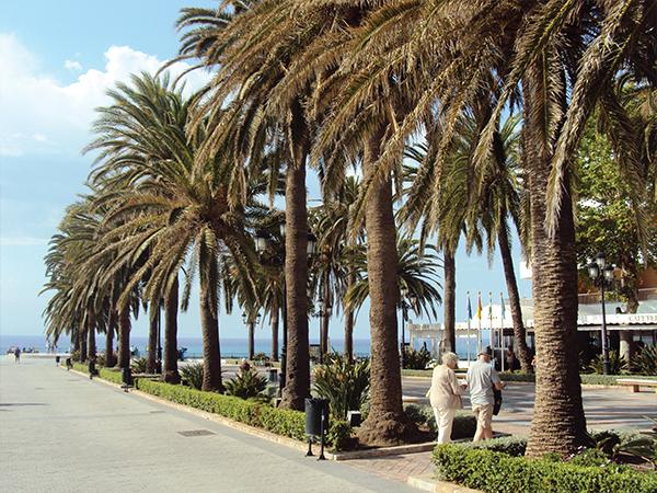 balcon europe visiter Nerja Andalousie blog voyage MSDV