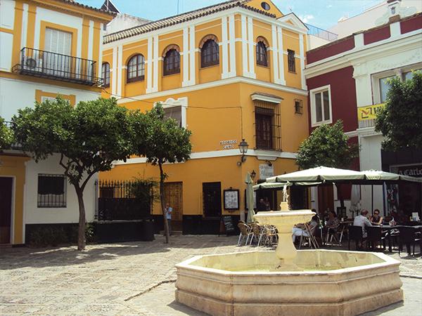 quartier typique visiter Seville Andalousie blog voyage