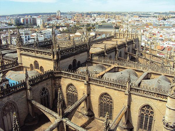 vue sur Séville blog voyage Ansalousie