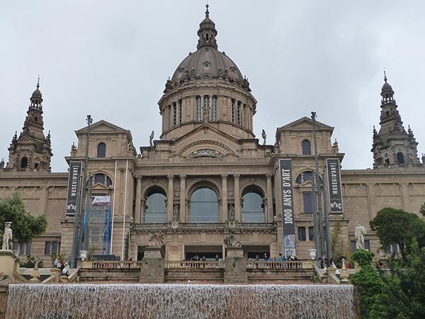 Fontaines MNAC visiter Barcelone blog voyage Mes Souvenirs de Voyage