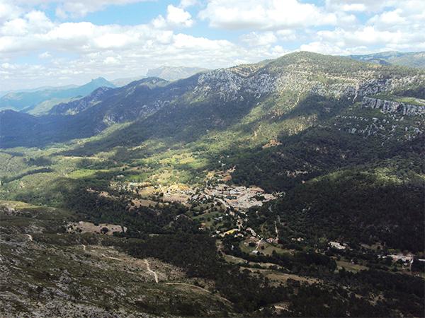 La vue sur la vallée villages blancs Andalousie blog voyage