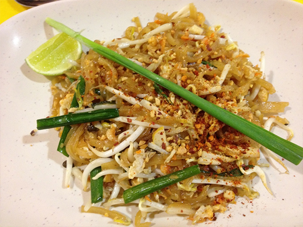 Pad Thai plat Thailande blog voyage