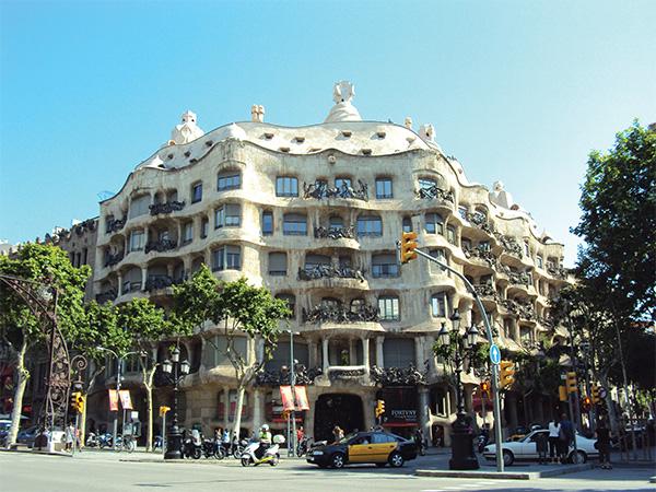 Pedrera Gaudi Visiter Barcelone en 5 jours Blog Voyage MSDV