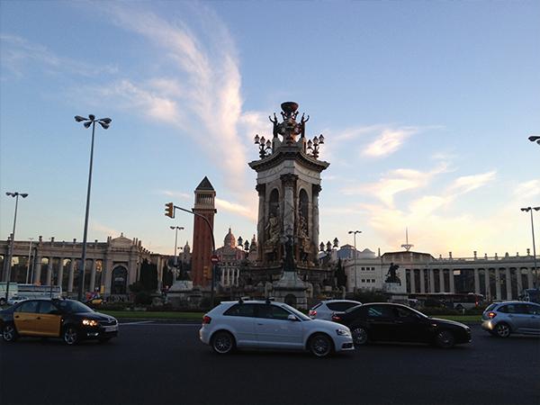 Placa de Espana visiter Barcelone blog voyage Mes Souvenirs de Voyage