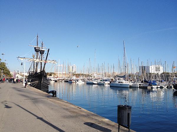 Port Barcelone blog voyage Mes Souvenirs de Voyage - visiter Barcelone en 5 jours : incontournables de Barcelone