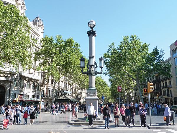 Rambla Barcelone blog voyage MSDV - visiter Barcelone en 5 jours : incontournables de Barcelone