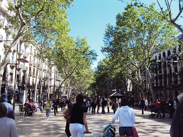 Rambla Barcelone blog voyage Mes Souvenirs de Voyage - visiter Barcelone en 5 jours : incontournables de Barcelone