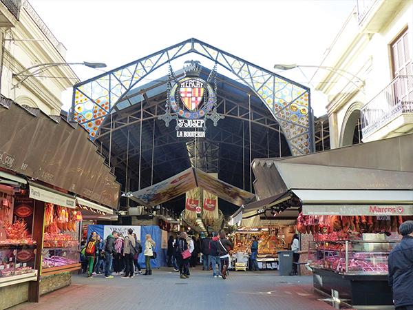 marché Boqueria Barcelone blog voyage
