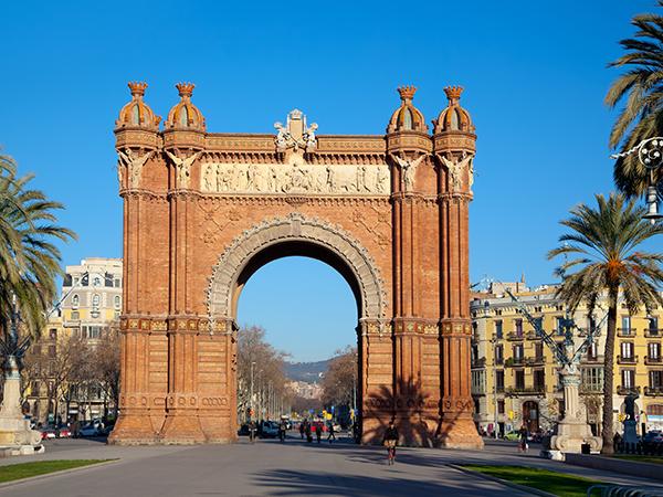 Arc de Triomphe Barcelone parc de la Ciutadella