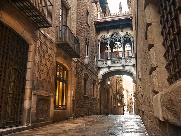 Bario Gotico Quartier Gothique Barcelone