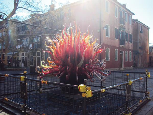 Burano sculpture Visiter Venise en 4 jours Blog Voyage MSDV Mes Souvenirs de Voyage