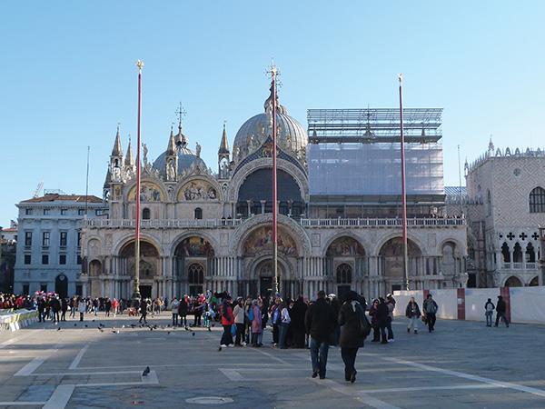 Place saint Marc Visiter Venise en 4 jours Blog Voyage MSDV Mes Souvenirs de Voyage