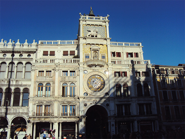 Tour de l'Horloge Visiter Venise en 4 jours Blog Voyage MSDV Mes Souvenirs de Voyage