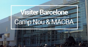 Visiter Barcelone Camp Nou MACBA MSDV