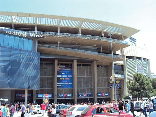 Visiter Barcelone Camp Nou entrée