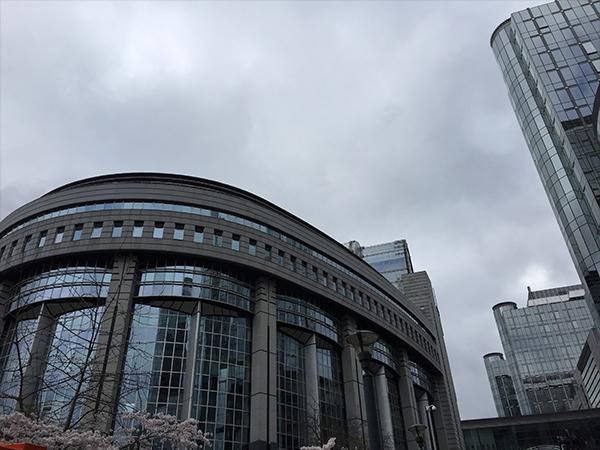 Architecture Parlement Bruxelles