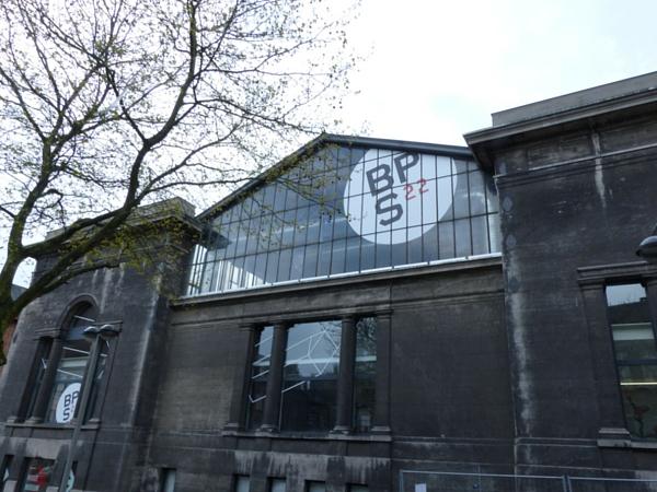 BPS22 Charleroi facade