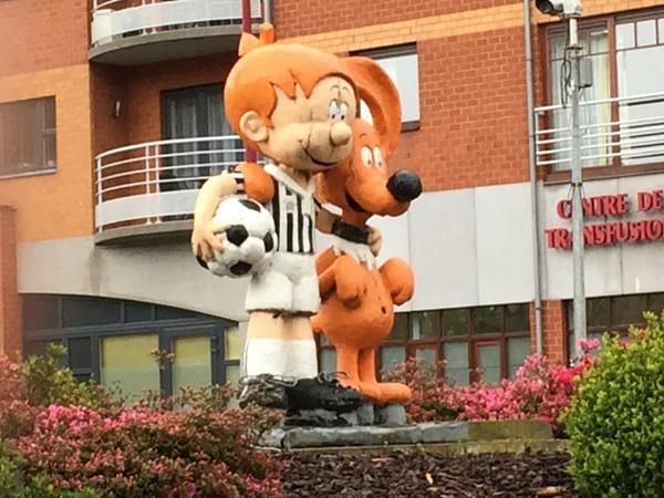 Boule et Bill Charleroi stade BD
