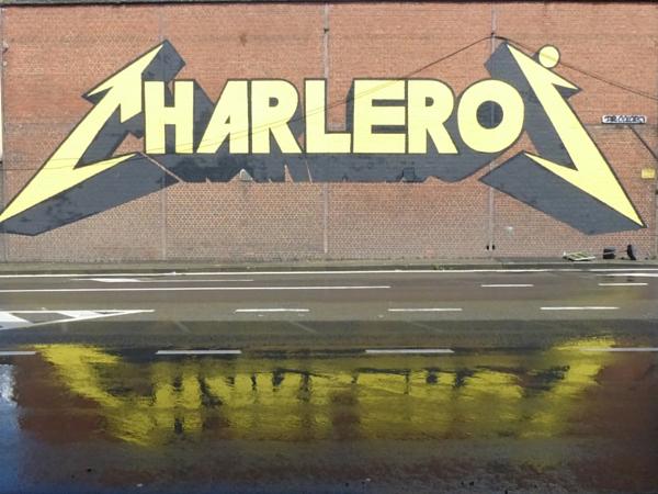 Charleroi tag street art