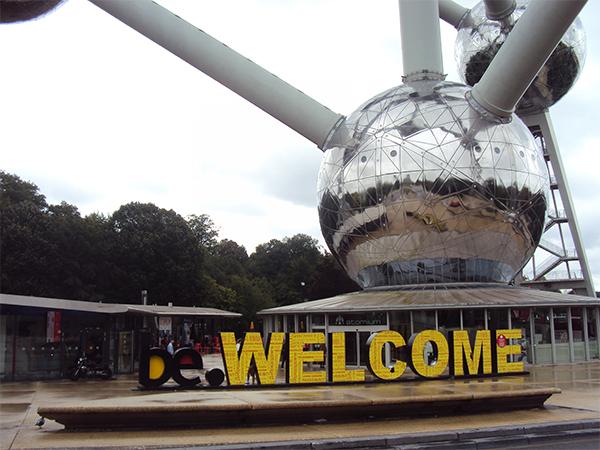 Entrée Atomium Bruxelles