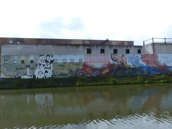 Hallage Charleroi street art