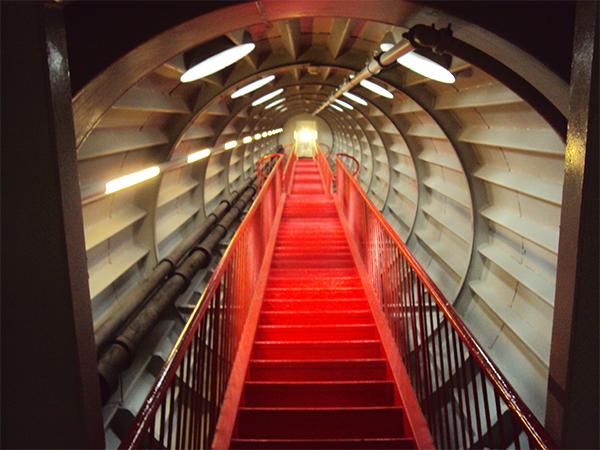 Intérieur Atomium Bruxelles