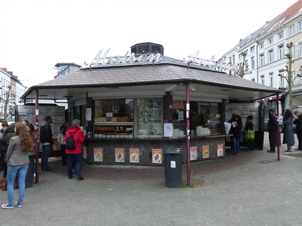 Maison Antoine frites Bruxelles bonnes adresses à Bruxelles