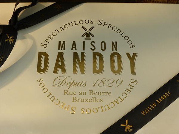 Maison Dandoy gaufres Bruxelles bonnes adresses à Bruxelles