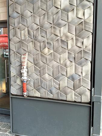Porte PinPon Pompier Bruxelles