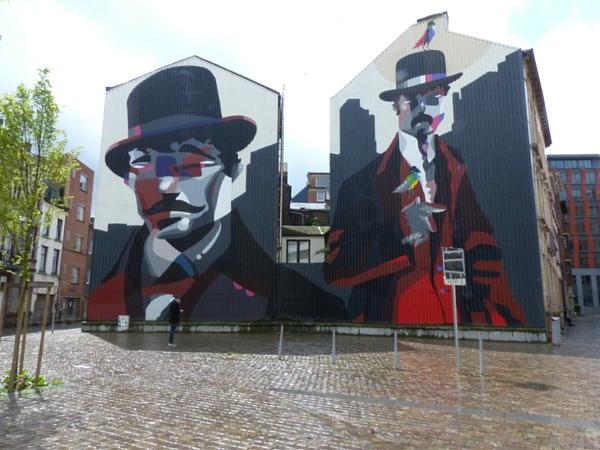 Street Art Charleroi Centre ville