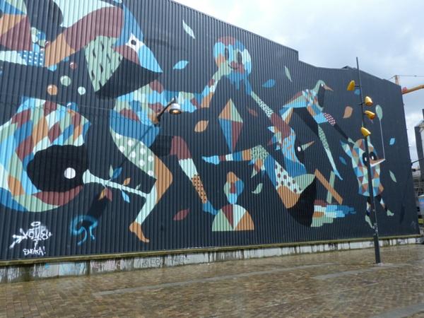 Street art Charleroi centre