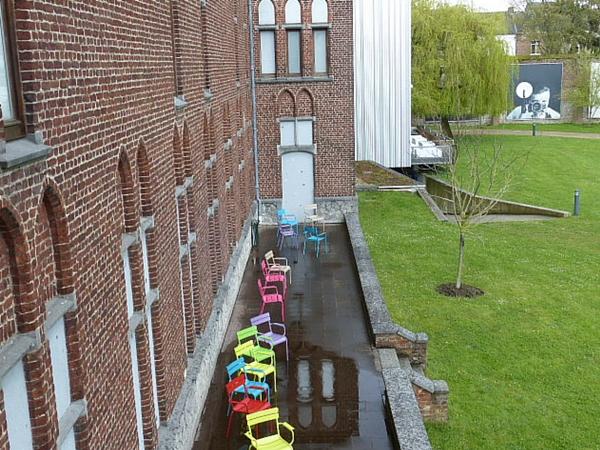 Terrasse musée de la photographie Charleroi