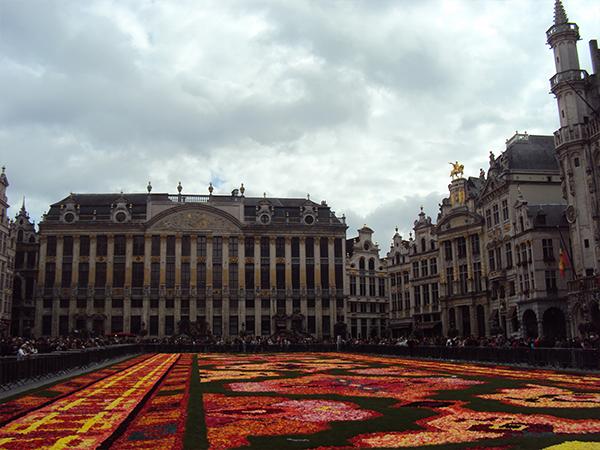 tapis de fleurs Grand'Place Bruxelles