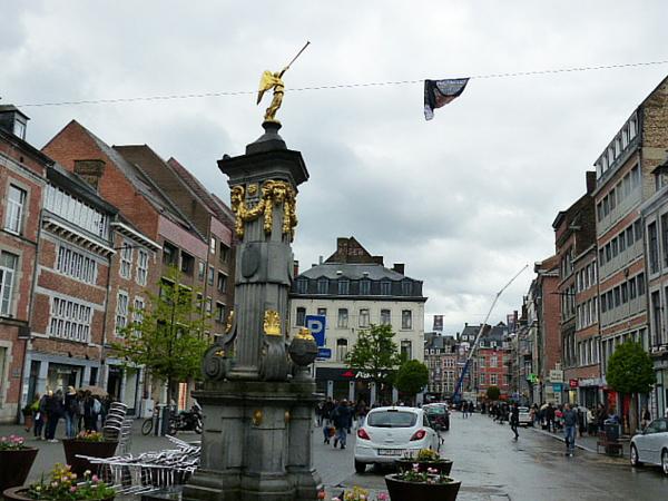 Centre-ville typique de Namur
