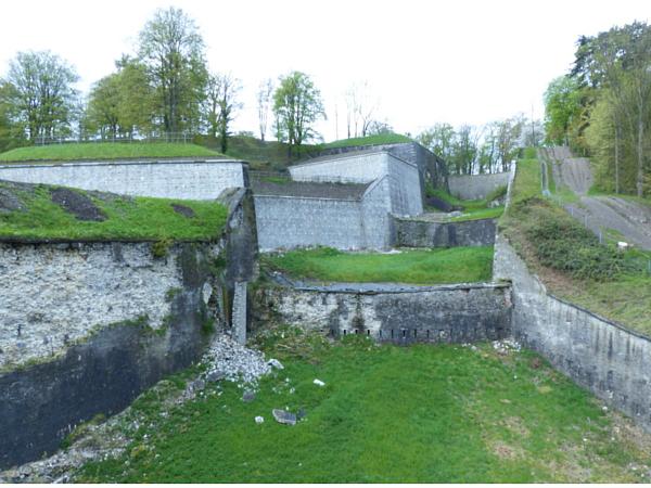 Citadelle de Namur intérieur