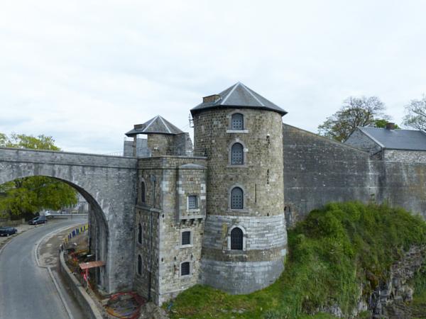 Citadelle de Namur tour intérieure