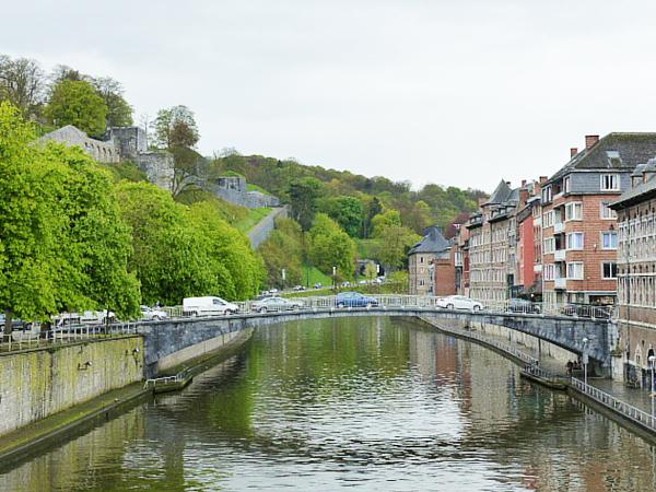 Entrée du centre-ville Namur