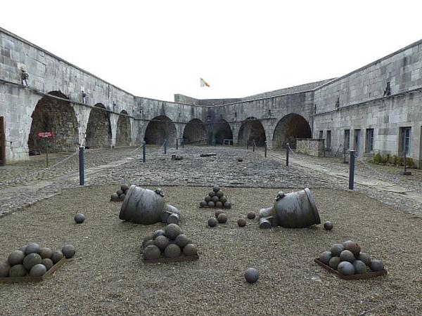 Intérieur Citadelle Dinant