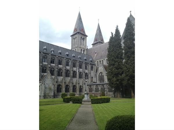 Jardin intérieur Abbaye