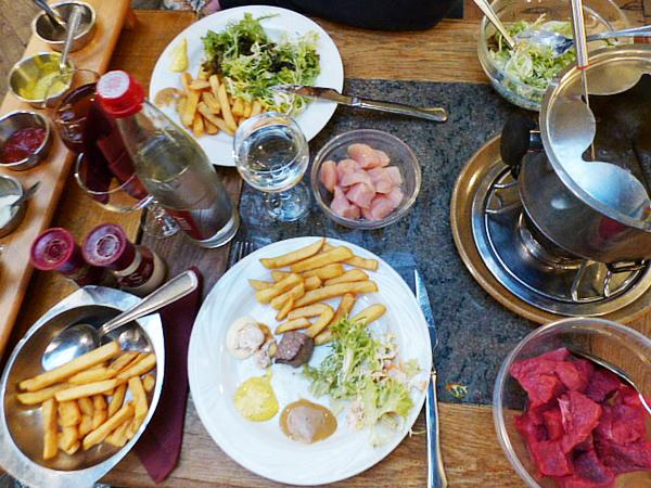 Restaurant fondue Namur