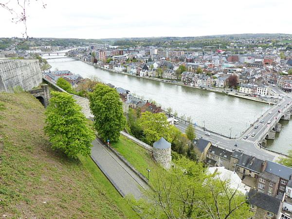 Vue sur la Sambre Namur
